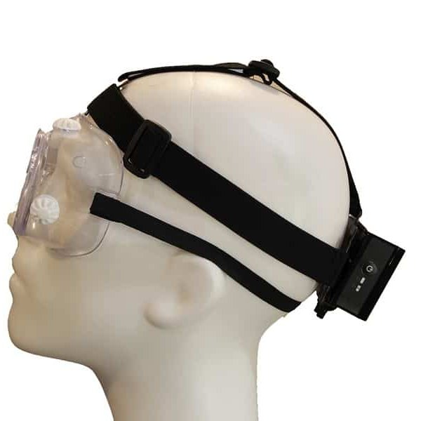 Exfog traditional headband attachment