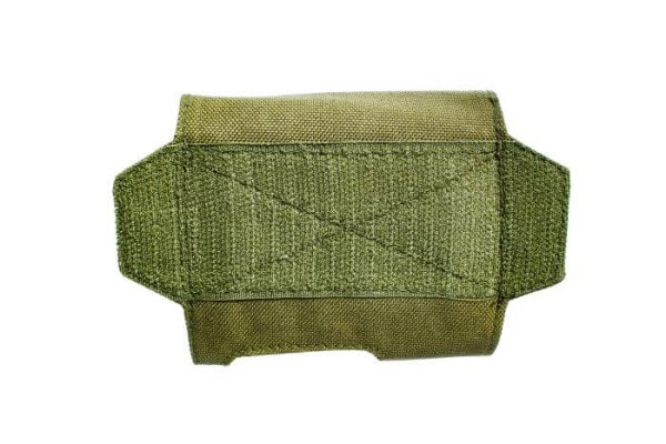Green ExFog antifog system helmet pouch