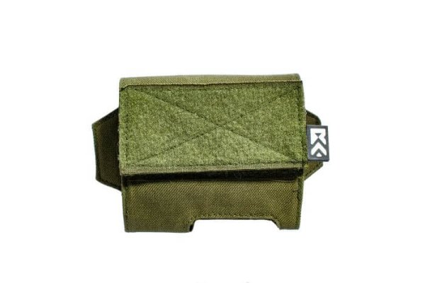 ExFog helmet pouch in green