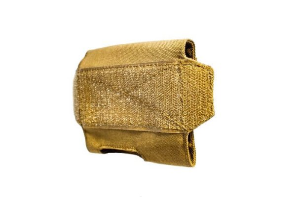 Front of the ExFog helmet pouch
