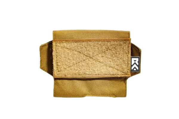 ExFog helmet pouch in tan